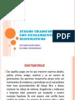 Juegos Tradicionales Con Pensamientos Matematicos Lk.pdf
