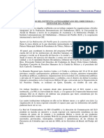 ILO Comunicado Toluca