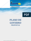 Plano de Governo de Marconi Perillo - Planejamento Global