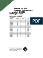 ECCE WritingBenchmarks Impreso