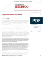 Constructor Eléctrico - Parques Bancomer, Modelo de Ahorro Energético