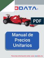 Manual de Precios Unitarios 2016
