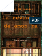 Hoja de Jugador Revancha de Amon Ra Original
