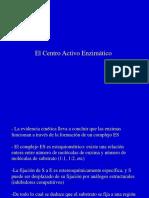 BIOQ26 El Centro Activo Enzimático