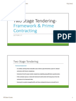 Lecture 17 Framework and Prime Contracting