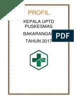 Profil Pegawai - Pkm Bkr (2017)