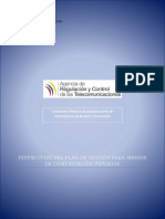 4 1 1 Instructivo Plan de Gestión Medios Privados