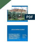 Landaverde Tecnica Drench 70 Fertilizacion Innovadora Coffee