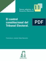 11_Díaz Revorio - EL Control Constitucional Del Tribunal Electo