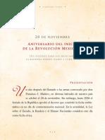 Aniversario Del Inicio de La Revolucion Mexicana