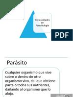 1. Generalidades de Parasitología