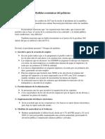 Medidas Económicas Del Gobierno