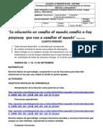 Plan de Mejoramiento Mat. y Leng c. Cuarto Periodo. (1)