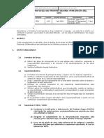 Protocolo de Trabajo Para Entregar Area -V02