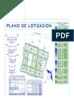 Plano de Lotizacion