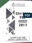 2017 SBC Labor Preweek