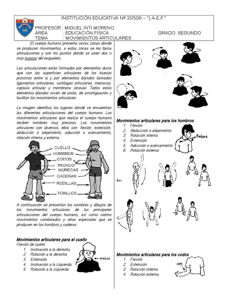 Movimientos Articulares J.E