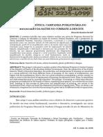 SEMIÓTICA APLICADA EM ANÚNCIO PUBLICITÁRIO (Dengue e Febre Amarela) - FCU - USA - UNIATLÁNTICO - AMÉRICA LATINA / EUROPA / UCAM RIO DE JANEIRO