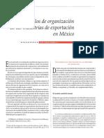 Ramírez_Modelos de Organización de Las Industrias de Exportación en México