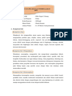 Rencana Pelaksanaan Pembelajaran Fluida Dinamis Baru