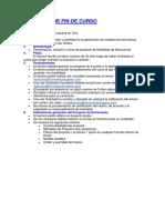 Proyecto de Fin de Curso - Estructuras