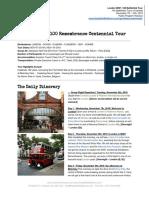 The Battlefield Tours - London WW1 100 Remembrance Tour NOV'18