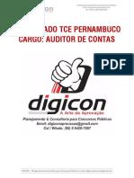 1º Simulado TCE Pernambuco - Auditor de Contas (1)