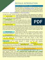 Pipe Flow & Hydraulics Slide Rule