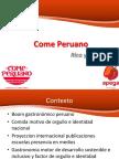 Valderrama, M. (2014). Come Peruano Come Rico [Presentación]