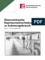2008 Oesterreichweite Repraesentativerhebung Zu Substanzgebrauch Bd1 Forschungsbericht