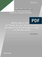 Aporte Para El Análisis Del Tratado de Libre Comercio Entre Centroamérica, República Dominicana y Los Estados Unidos