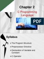 03. Chapter 3 - C Programming Language