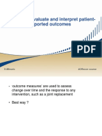 Methods to Evaluate and Interpret Patient-reported Outcomes01