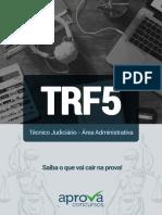 Temas Mais Cobrados Trf5