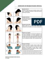 Ejercicios de Rehabilitacion Cervical