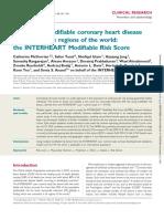 Estimating Modifiable Coronary Heart