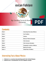mexican folklore by carolina torres and roselena cervantes