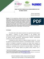 A Dinâmica Funcional Da Rede Urbana Nas Cidades Médias Do Sul de Minas Gerais