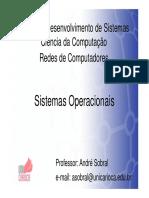 Aula de sistemas operacionais 7