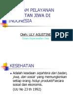 Program Pelayanan Keswa di Indonesia.ppt