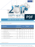 Seven Stocks to Buy for 2017