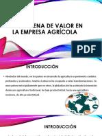 La Cadena de Valor en La Empresa Agrícola