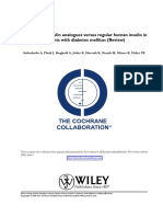 Cochrane Human vs Analog Rapid
