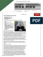 Acero Inoxidable Duplex 2205 _ SAF 2205 _ UNS S31803