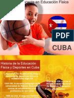 Formación Docente en Educación Física. Cuba.finlandia