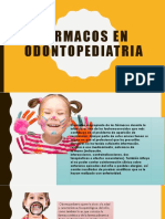 Farmacos en Odontopediatria