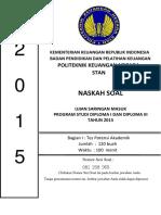 Soal Dan Pembahasan USM PKN STAN 2015