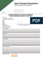 evaluasi kation anion