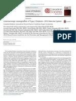 Pharmacologic Management of Type 2 Diabetes 2016 CANADA