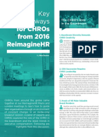 The CHRO's Role in the Boardroom (Latest Key Takeaways)